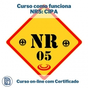Curso Online em videoaula de como funciona NR5: CIPA com Certificado