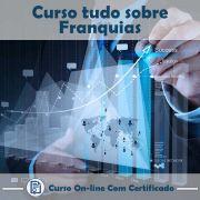 Curso online em videoaula Tudo Sobre Franquias com Certificado