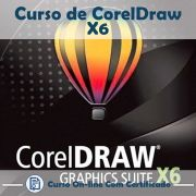 Curso online em videoaula de CorelDRAW X6 com Certificado