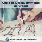 Curso online em videoaula de Desenvolvimento de Croqui com Certificado
