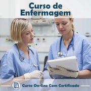 Curso online em videoaula de Enfermagem  com Certificado