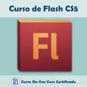 Curso Online em videoaula de Flash CS5 com Certificado