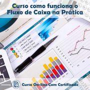 Curso online em videoaula de Fluxo de Caixa na Prática com Certificado