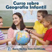 Curso online em videoaula de Geografia - Infantil com Certificado