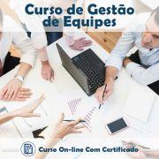 Curso online em videoaula de Gestão de Equipes com Certificado