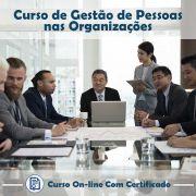 Curso online em videoaula de Gestão de Pessoas nas Organizações com Certificado