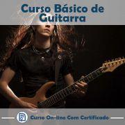Curso online em videoaula de Guitarra - Básico com Certificado