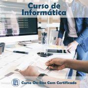 Curso Online em videoaula de Informática com Certificado