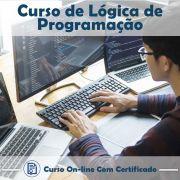 Curso Online em videoaula de Lógica de Programação com Certificado