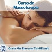 Curso online em videoaula de Massoterapia com Certificado