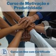 Curso online em videoaula de Motivação e Produtividade com Certificado