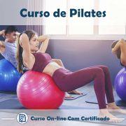 Curso online em videoaula de Pilates com Certificado