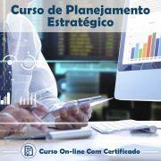 Curso online em videoaula de Planejamento Estratégico com Certificado