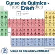 Curso Online em videoaula de Química - Enem com Certificado