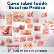 Curso online em videoaula de Saúde Bucal na Prática com certificado