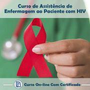 Curso online em videoaula sobre Assistência de Enfermagem ao Paciente com HIV com Certificado