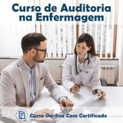 curso online em videoaula sobre Auditoria na Enfermagem com Certificado