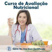 Curso online em videoaula sobre Avaliação Nutricional na Prática com Certificado