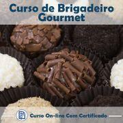 Curso online em videoaula sobre Brigadeiros Gourmet com Certificado