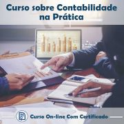 Curso online em videoaula sobre Contabilidade na Prática com Certificado
