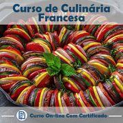 Curso online em videoaula sobre Culinária Francesa com Certificado