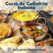 Curso online em videoaula sobre Culinária Indiana com Certificado
