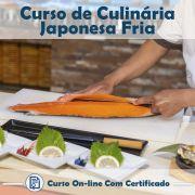 Curso online em videoaula sobre Culinária Japonesa Fria com Certificado