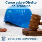 Curso Online em videoaula sobre Direito do trabalho com Certificado