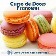Curso online em videoaula sobre Doces Franceses com Certificado