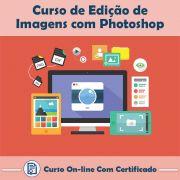 Curso online em videoaula sobre Edição de Imagens com Photoshop com Certificado
