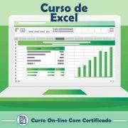 Curso online em videoaula sobre Excel com Certificado