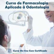Curso online em videoaula sobre Farmacologia Aplicada à Odontologia com Certificado