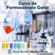 Curso online em videoaula sobre Farmacologia Geral com Certificado