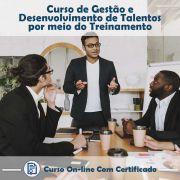 Curso online em videoaula sobre Gestão e Desenvolvimento de Talentos Por Meio do Treinamento com Certificado