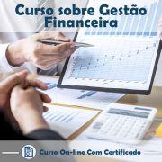 Curso online em videoaula sobre Gestão Financeira com Certificado