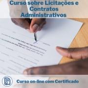 Curso Online em videoaula sobre Licitações e Contratos Administrativos com Certificado