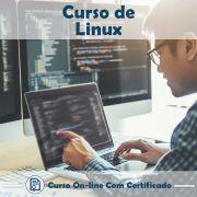 Curso online em videoaula sobre Linux com Certificado
