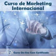 Curso online em videoaula sobre Marketing Internacional com Certificado