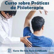 Curso online em videoaula sobre Práticas de Fisioterapia com Certificado