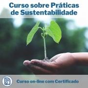 Curso Online em videoaula sobre Práticas de Sustentabilidade com Certificado