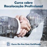 Curso online em videoaula sobre Recolocação Profissional com Certificado