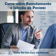 Curso online em videoaula sobre Recrutamento e Seleção de Pessoas com Certificado