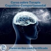 Curso online em videoaula sobre Terapia Cognitivo-Comportamental com Certificado