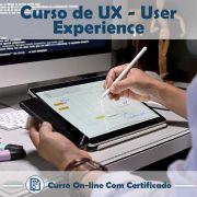 Curso online em videoaula sobre UX: User Experience com Certificado