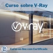Curso Online em videoaula sobre V-Ray com Certificado