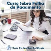 Curso Online sobre Folha de Pagamento na Prática com Certificado