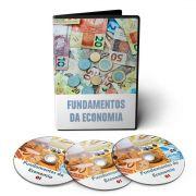 Curso sobre Fundamentos da Economia em 03 DVDs Videoaula