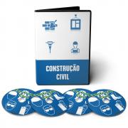 Curso Tudo Sobre Construção Civil em 06 DVDs Videoaula