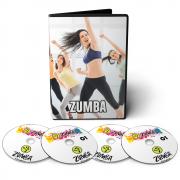 Curso Zumba Fitness em 07 DVDs Videoaula
