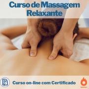 Curso on-line de Massagem Relaxante com Certificado
